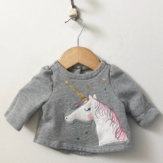 Gap Unicorn Sweatshirt 0 - 3M