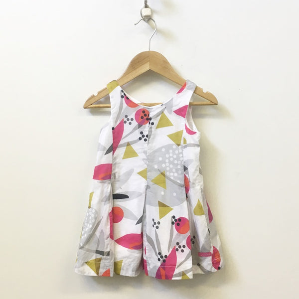 Catimini Sleeveless Floral Dress 3T