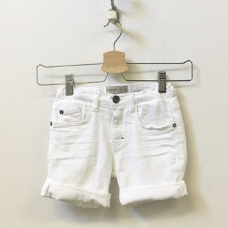 Zara 5-Pocket Denim Shorts 6Y