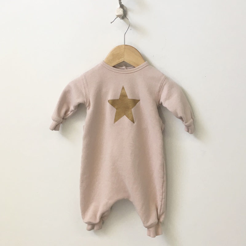 Babe & Tess Long Sleeve Star Onesie 6M