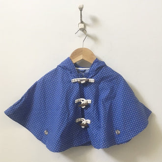 Paddington Bear for Gap Hooded Polka Dot Poncho 18M-24M
