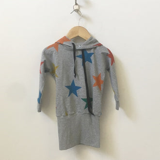 *NEW* Hootfish Hooded Sweatshirt with Stars 3T