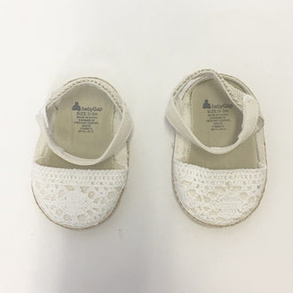 *NEW* Gap Crochet Ankle Strap Sandals 0 - 3M