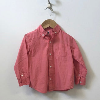 Janie and Jack Button Down Woven Shirt 2T
