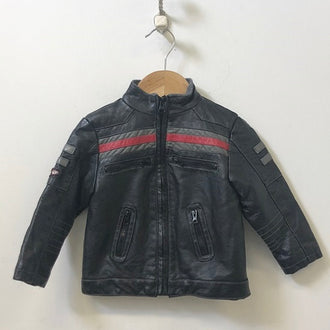 Losan Baby Faux Leather Moto Jacket 18M