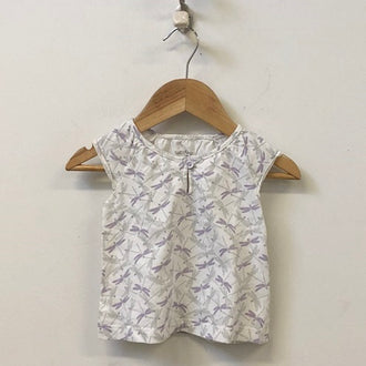 Gap Factory Cap Sleeve Dragonfly Top 6M - 12M