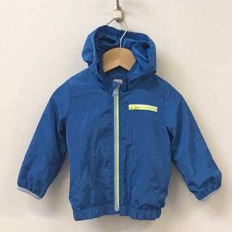Gap Lined Windbreaker Jacket with Detachable Hood 18M-24M