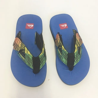 *NEW* Quicksilver Rubber Adjustable Flip Flops 10T