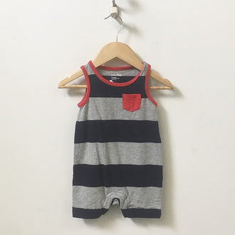 Gap Striped Tank Romper 3M - 6M