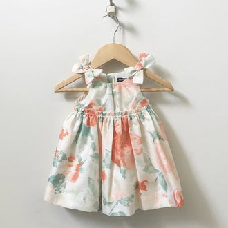Gap Sleeveless Watercolour Dress with Tulle 3M - 6M