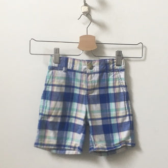 Janie and Jack Plaid Shorts 2T