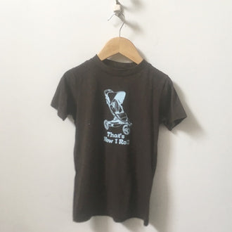 "*NEW* Dry Goods ""That's How I Roll"" Graphic Tee 4T"