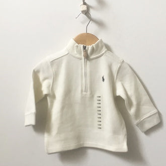 *NEW* Polo Ralph Lauren Half Zip Sweatshirt 12M
