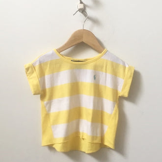 Ralph Lauren Wide Stripes Tee 2T