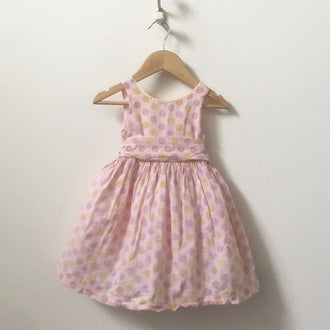 Luna Luna Sleeveless Polka Dot Party Dress 18M - 24M