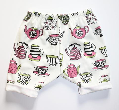 Alice Tea Party Bermuda Shorts 12M - 18M