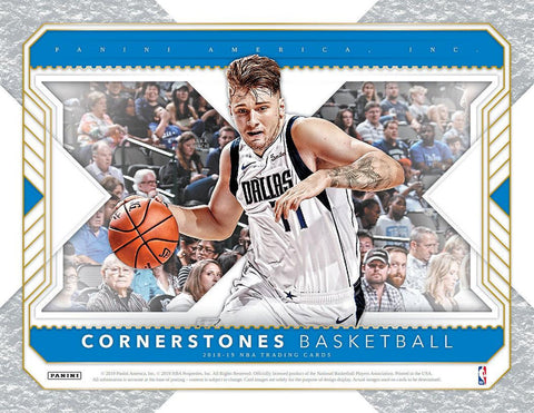 2018/19 Panini Cornerstones Basketball 1/3 Case Break Random Teams #1
