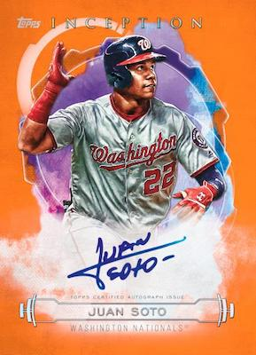 2019 INCEPTION BASEBALL PICK YOUR TEAM 16 BOX CASE BREAK #2