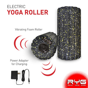 4-Speed Vibrating Electric Muscle Foam Roller