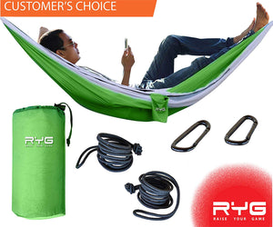 Portable Hammock (Neon Green)