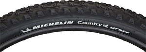 Michelin Country Grip'R Tire - 26 x 2.1, Clincher, Wire, Black