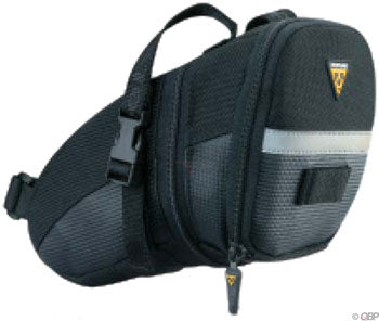 Topeak Aero Wedge Seat Bag: LG, Black