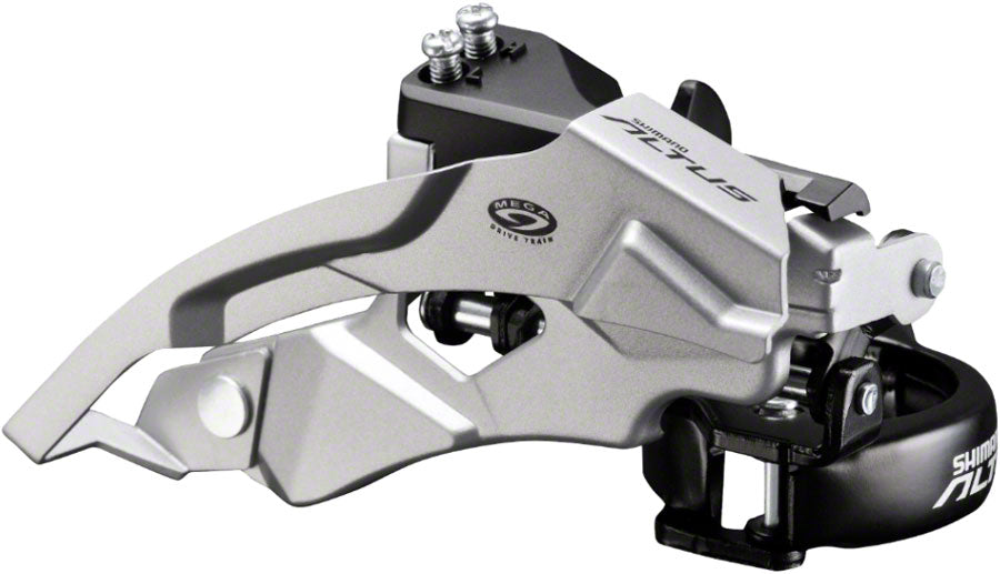 Shimano Altus FD-M370 9-Speed Triple Top-Swing Dual-Pull Front Derailleur