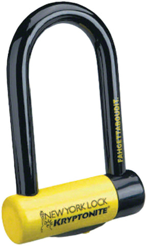 "Kryptonite New York Fahgettaboudit Mini U-Lock: 3.25"" x 6"""