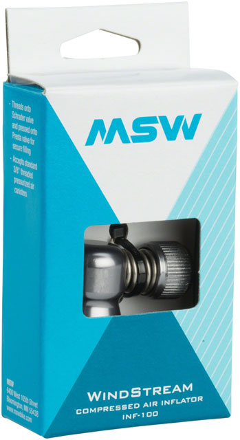 MSW Windstream Compressed Air Inflator