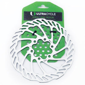 Ultracycle Disc Rotor 6 Bolt 160mm