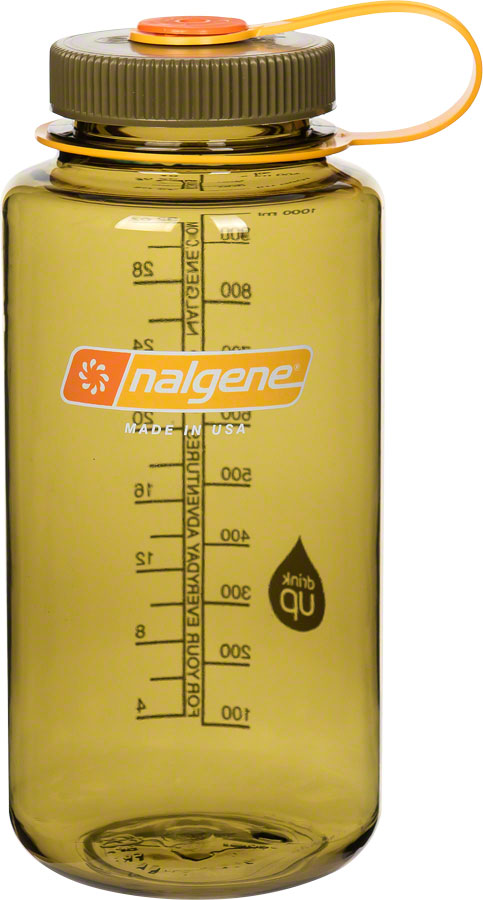 Nalgene Wide Mouth Water Bottle: 32oz- Assorted colors