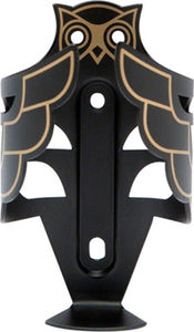 Portland Design Works Owl Cage: Black/Gold