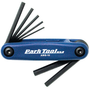 PARK TOOL AWS-10 FOLDING HEX SET