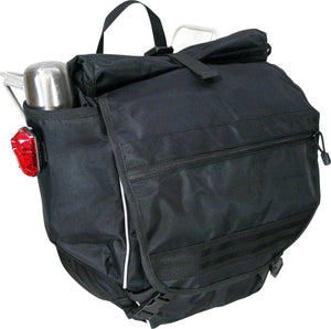 Banjo Brothers Waterproof Backpack Pannier: Black