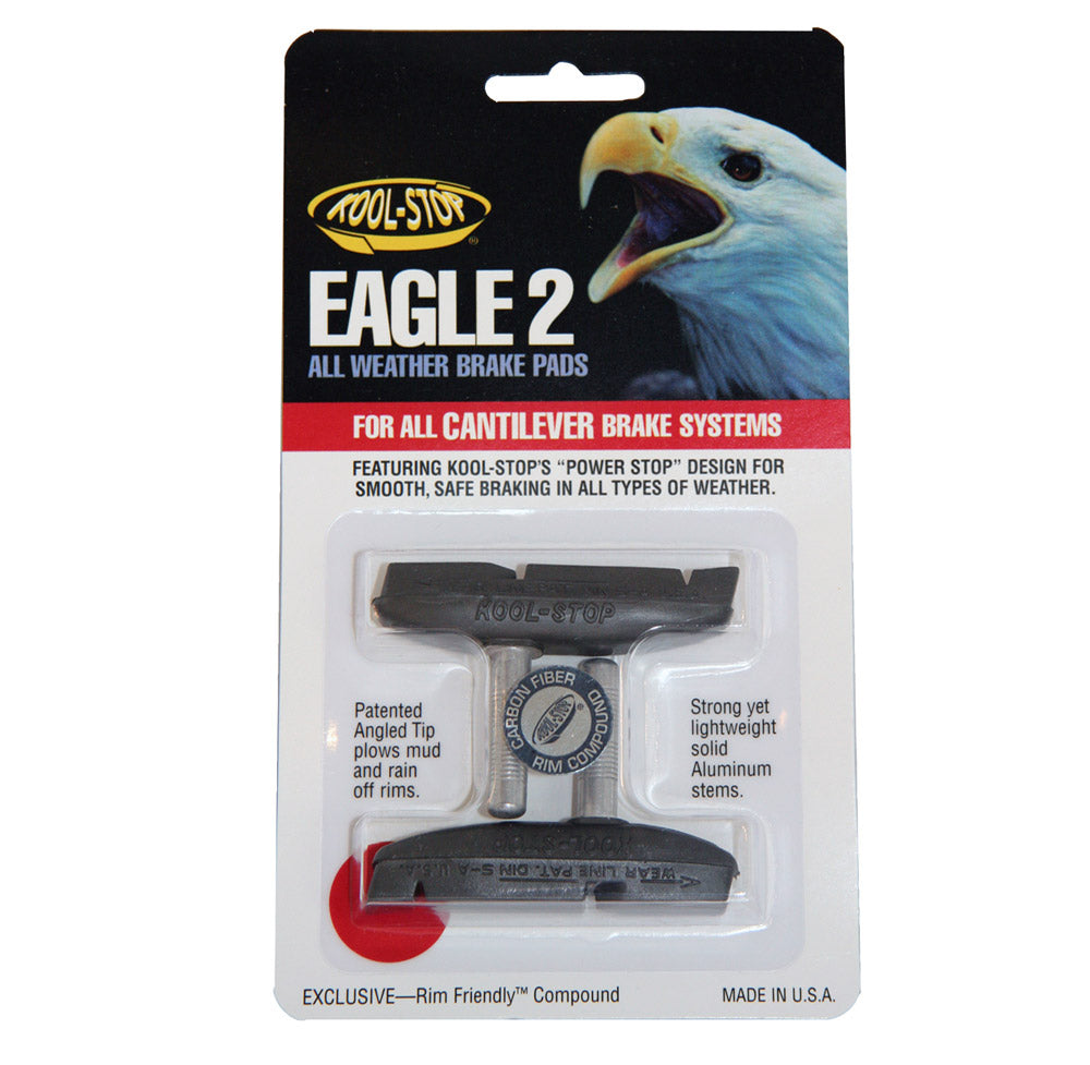 Kool-Stop Eagle 2 All Weather Brake Pads, for Cantilever