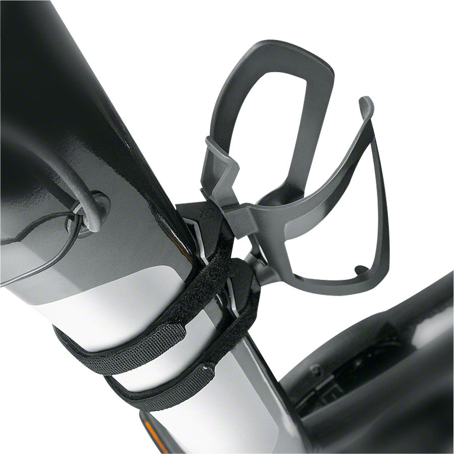 SKS Anywhere Adapter, Water Bottle Cage Mounting Adapter: Black