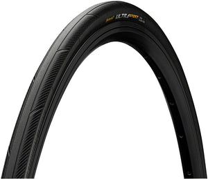 Continental Ultra Sport III Tire - 700 x 25, Clincher, Folding, Black