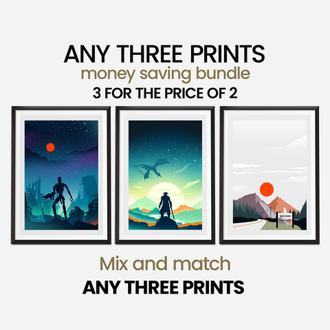 Money Saving Offer - 3 x Prints of your Choice Collection