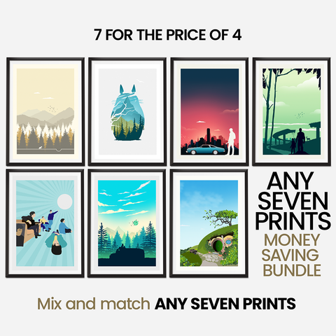 Money Saving Offer - Any 7 x Prints of your Choice Collection