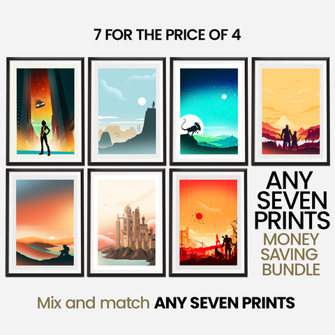 Money Saving Offer - 7 x Prints of your Choice Collection