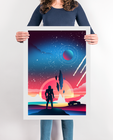 Andromeda Video Game Poster