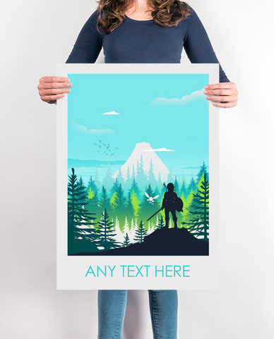 Add your own text Poster