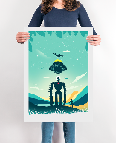 Sky Castle Movie Poster Print
