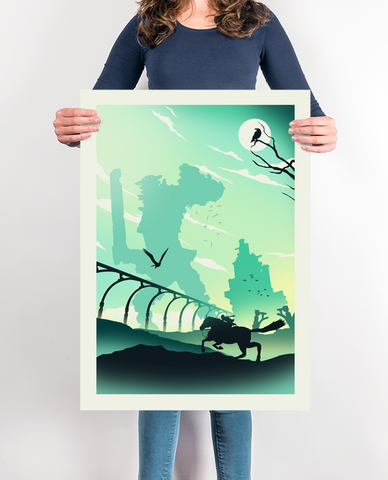 The Colossus Gaming Poster