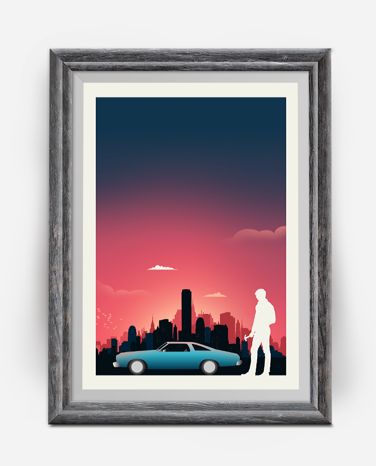 Drive Minimalist Movie Poster
