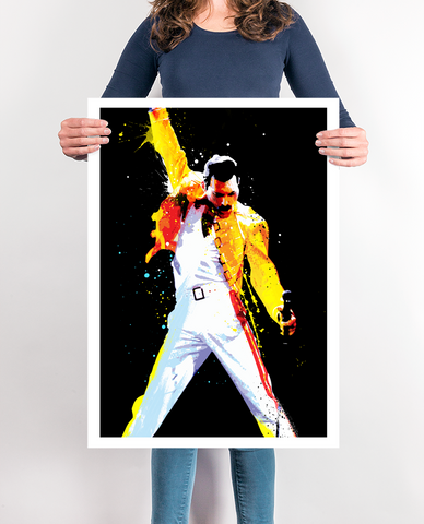 Freddie Mercury, Queen Pop Art, art print