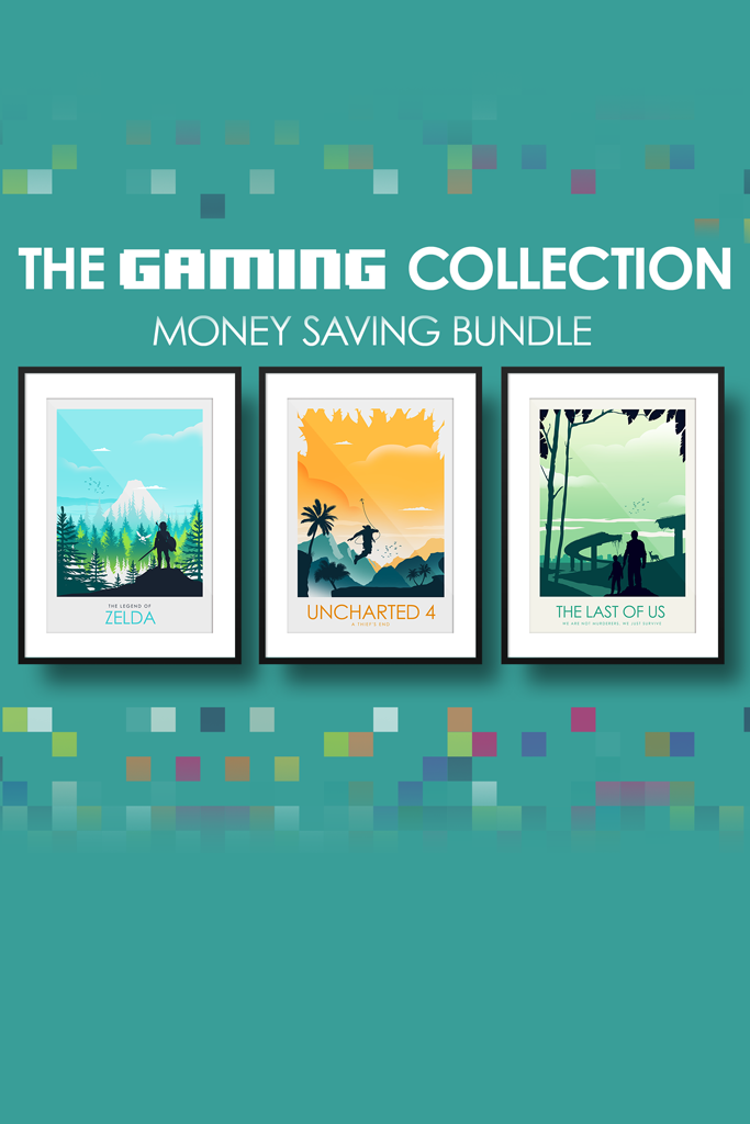 The  GAMING Collection - Zelda, Uncharted & The Last of Us - Money Saving Collection