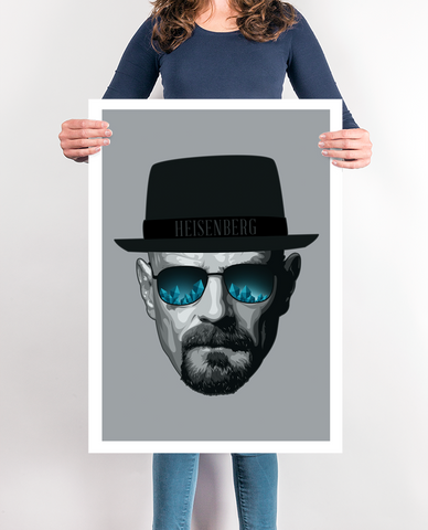 Walter White Breaking Bad Poster