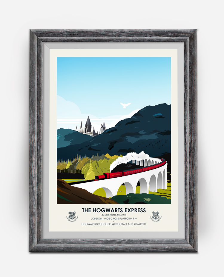 Hogwarts Express Travel Poster