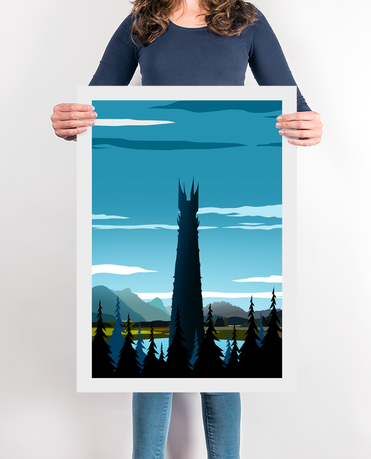 The Iron Fortress Travel Poster